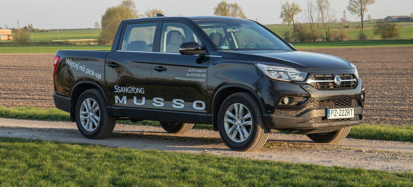 Raport: SsangYong Musso